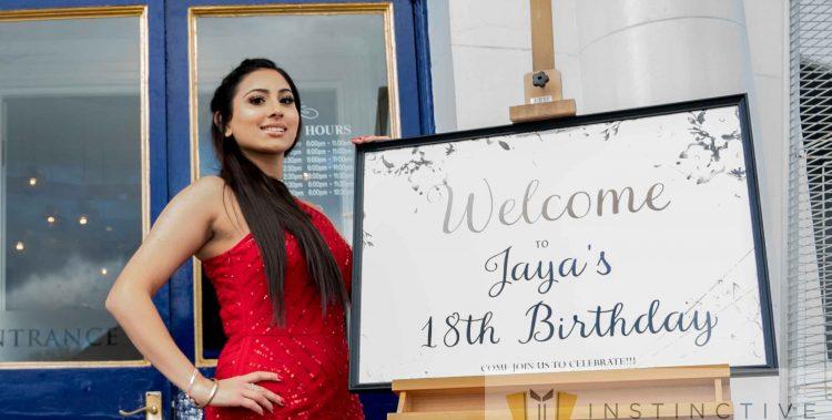 Jaya's 18th Birthday Party at Kuti's Brasserie - Indian Restaurant in Southampton